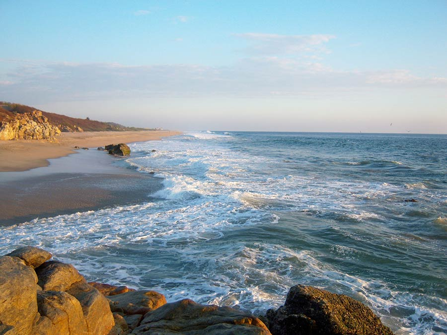 Playa Zicatela Oaxaca, playa zicatela, playa zicatela méxico, mar playa zicatela