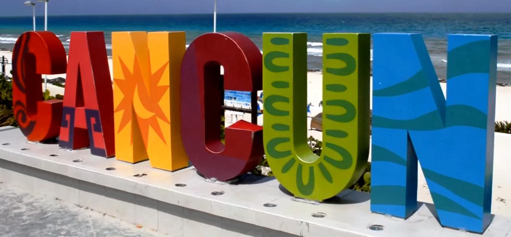Cartel Cancún Playa Delfínes, Cartel Cancún Playa Delfínes Riviera Maya