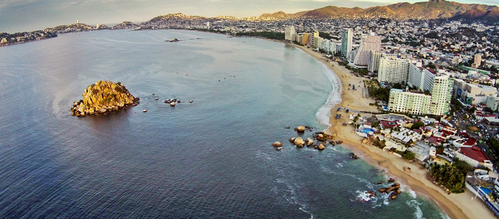 Playa Condesa, Playa Condesa Costa, Playa Condesa México, Playa Condesa Acapulco, Playa Condesa aérea, Playa Condesa aire