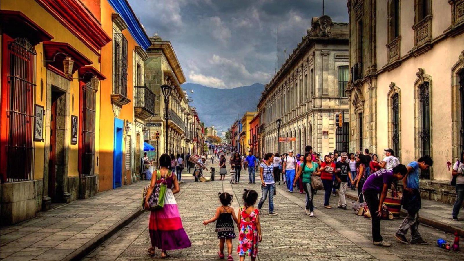 Calle en Oaxaca de jUarez
