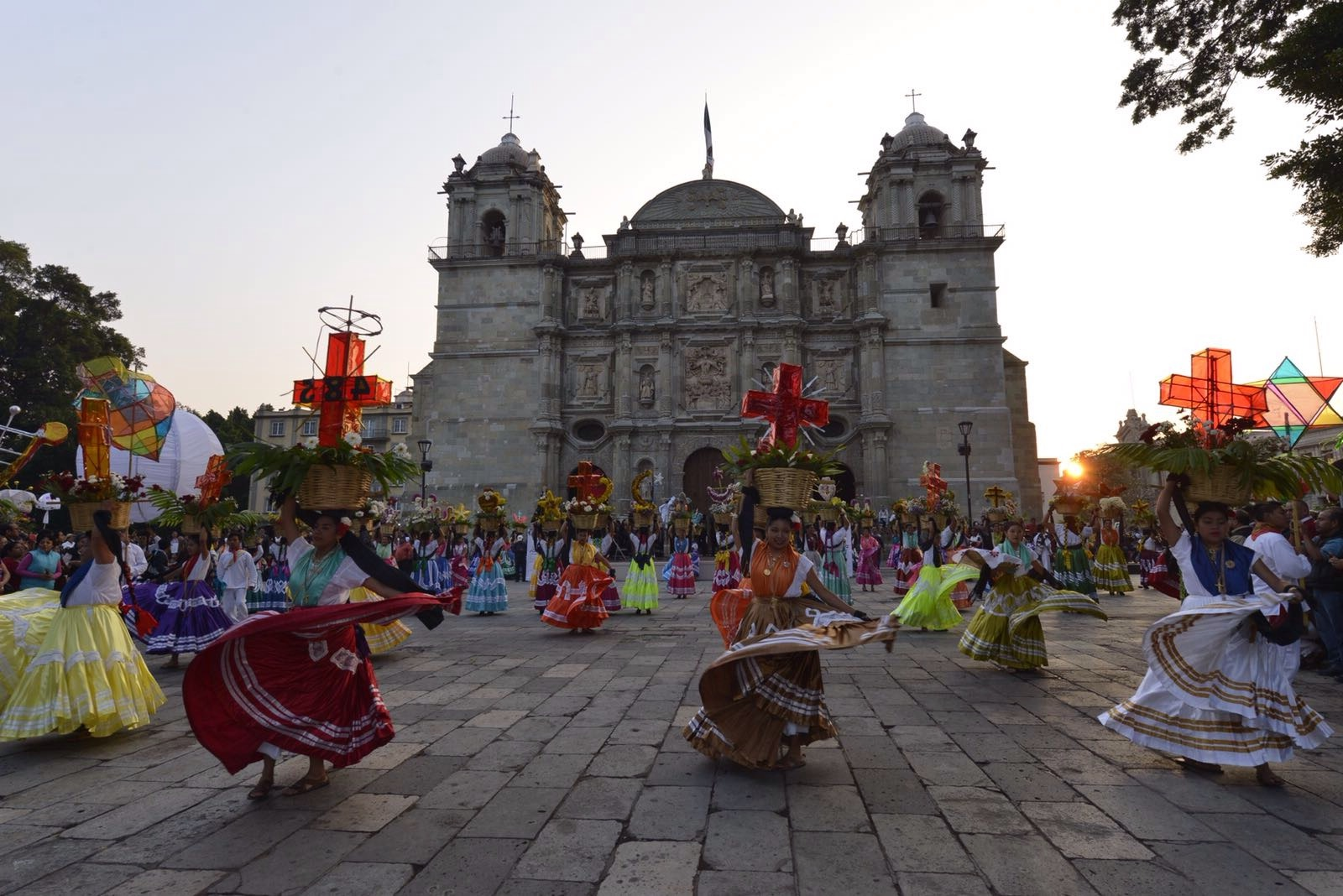 Celebracion del 485 Aniversario de Oaxaca